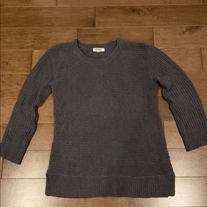 BB Dakota Grey Chenille Sweater!